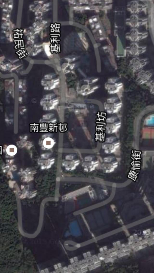 南豐新村風水佈局