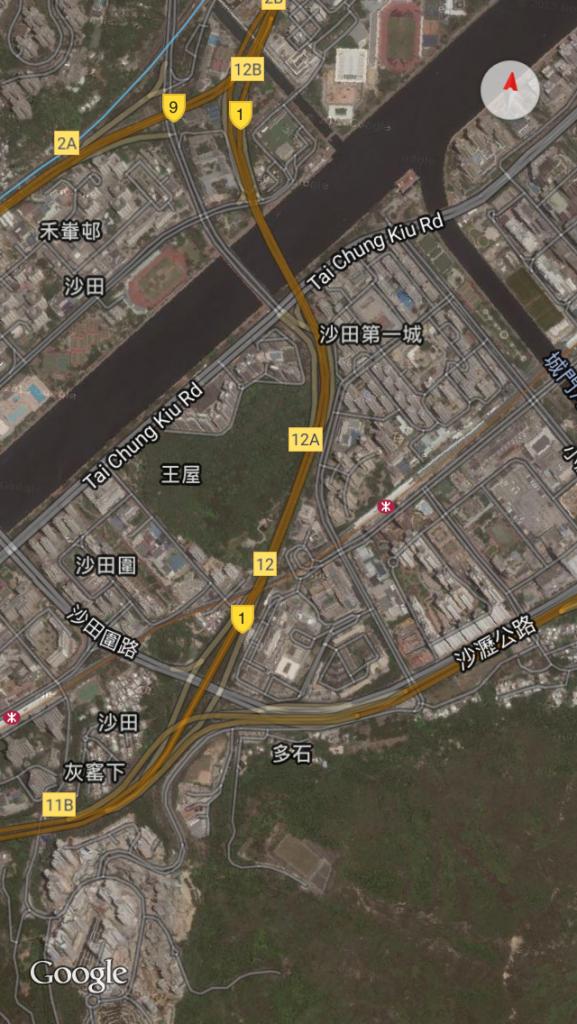 沙田第一城風水佈局