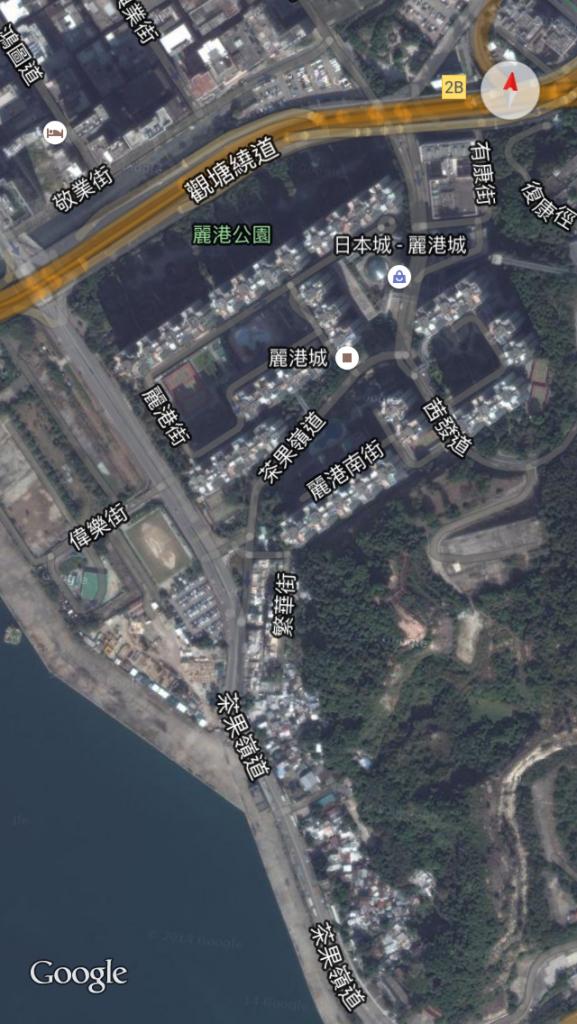 藍田麗港城風水佈局